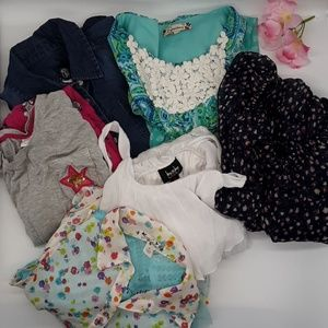 GIRLS SUMMER DRESS BUNDLE SIZE 10/12